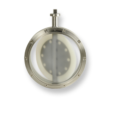 Oyster Hygienic Tablet Butterfly Valve - Bolted Body